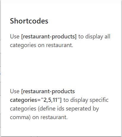 unique shortcode